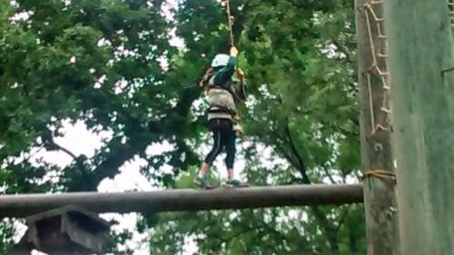 Summer Camp Aerial Trek 010